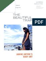 The Beautiful Trap- Janine Antoni's Body Arr