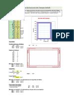 3.3.1 Diseño Estructural Reservorio