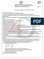 Chemical Reaction and Equation Paper - Copy