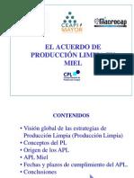 Material de difusión APL Miel