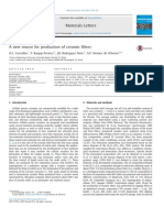 A New Source for Production of Ceramic Filters- Carvalho, 2013