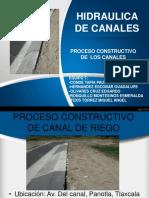Proceso Constructivo de Un Canal11
