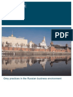Grey Practices in the Russian Business Environment