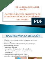 Capítulo III Una Propuesta de Materiales Para La Enseñlanza Del Inglés Clasica