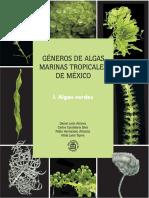 guía para identificación de algas verdes