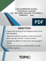 Ppt. Presentation-weather Disturbances