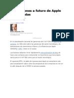 Estimaciones a futuro de Apple actualizadas.docx