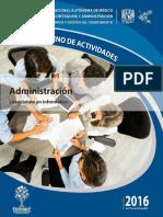 Cuaderno de Actividades Administracion SUAYED