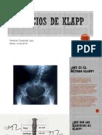 Diapositivas Ejercicios de Klapp