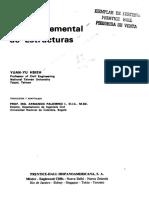 Teoria Elemental de Estructuras Yuan Yu Hsieh