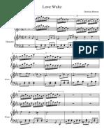 piano love waltz