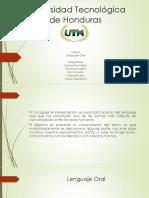 Presentación de Lenguaje Oral