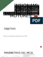 Dimensionamiento de Motores