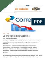 A Crise Real Dos Correios _ Correios Do Brasil - Funcionários