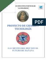 Planificacion Matriz Ciencia y Tecnologia 2018 - 2019