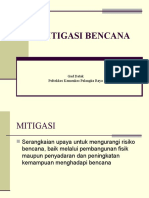 3. MITIGASI BENCANA