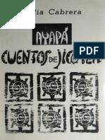 Ayapa de Lidya Cabrera