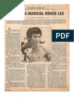 o Artista Marcial Bruce Lee