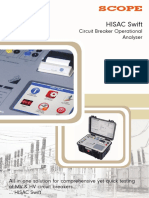 Breaker Analyser HISAC Swift 1-2-2016