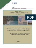 Pt Farika Steel Dokumen Analisis Dampak