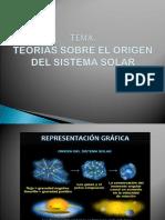 Exposicion 1. Origen Del Sistema Solar