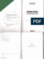 biblioteca básica serviço social - volume 1 Economia Política