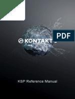 KONTAKT 602 KSP Reference Manual
