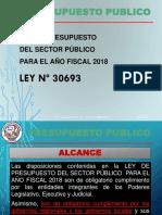 Ley Presupuesto 2018