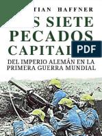 Los Siete Pecados Capitales Del Imperio - Sebastian Haffner
