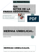 CIRUGIA PEDIATRICA - DEFECTOS CONGENITOS DE LA PARED ABDOMINAL..pptx