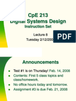 Lecture8 8051 Instruction Set Review