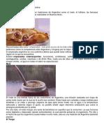 Costunbres y Tradiciones de Argentina y Haiti