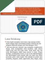 APLIKASI JURNAL PENGARUH TERAPI MUROTAL TERHADAP SKALA NYERI.pptx