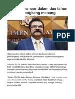 Pembangkang Hancurkan Malaysia