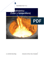 Material Didactico Clase 1 y 2 -Cuarto Corte( Calor y Temperatura)