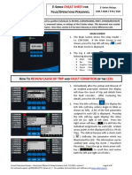 Eaton's E-Series Relays Basic Cheat Sheet