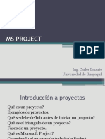 Ms Project Clase 1