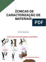 Técnicas de Caracterização de Materiais
