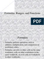 3 Formulas, Ranges, Functions.ppt