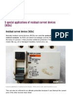 5 applications for RCD