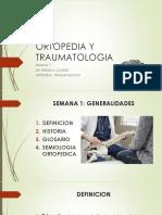 Ortopedia Semana 1