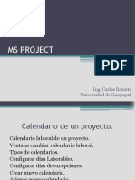 Ms Project Clase 2