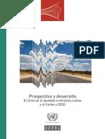 Cepal América Latina y El Caribe 2020