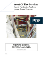 Trench Rescue Technician Level