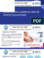Măsuri Pentru Scăderea Ratei de Infecții Nosocomiale