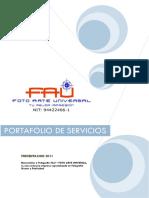Portafolio de Servicios Fotografia Fau c2908b0b91010
