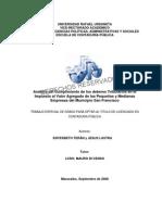 Tesis. Análisis del cumplimiento de los deberes tributarios en el Impuesto al Valor Agregado