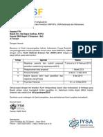 Surat Undangan YNSF 2019 - Kepala SMA Negeri 3 Denpasar - Bali