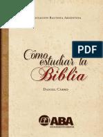 Como Estudiar la Biblia - Daniel Carro.pdf