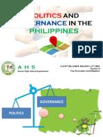 First Week-Politics amd Governance.pptx